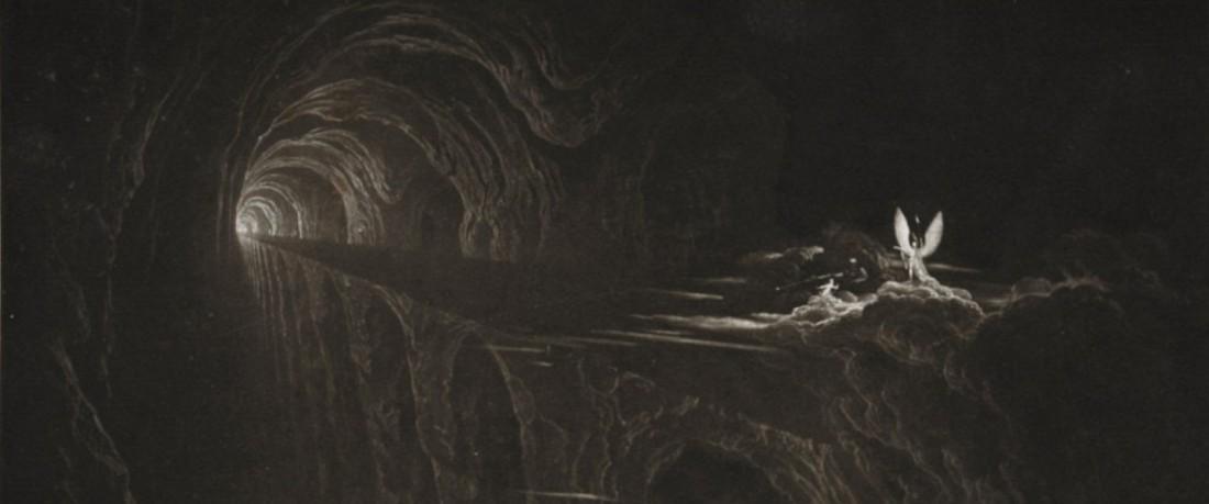 endlose und dunkle Höhlen